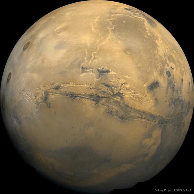 والس مارینریس: بزرگترین دره مریخ