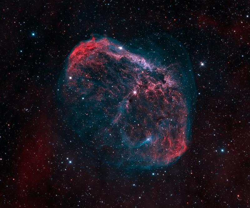 سحابی NGC 6888 یا سحابی هلالی