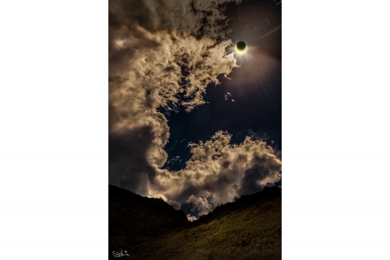 تماشای خورشید گرفتگی در جزیره ریونین