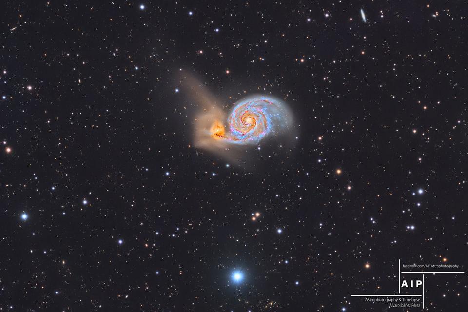 کهکشان گرداب و فراتر از آن