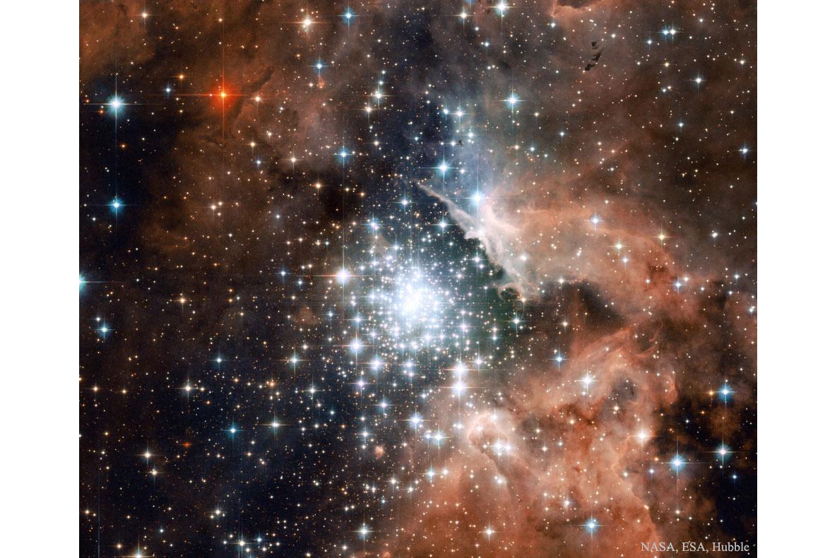 خوشه ستاره ای درNGC 3603