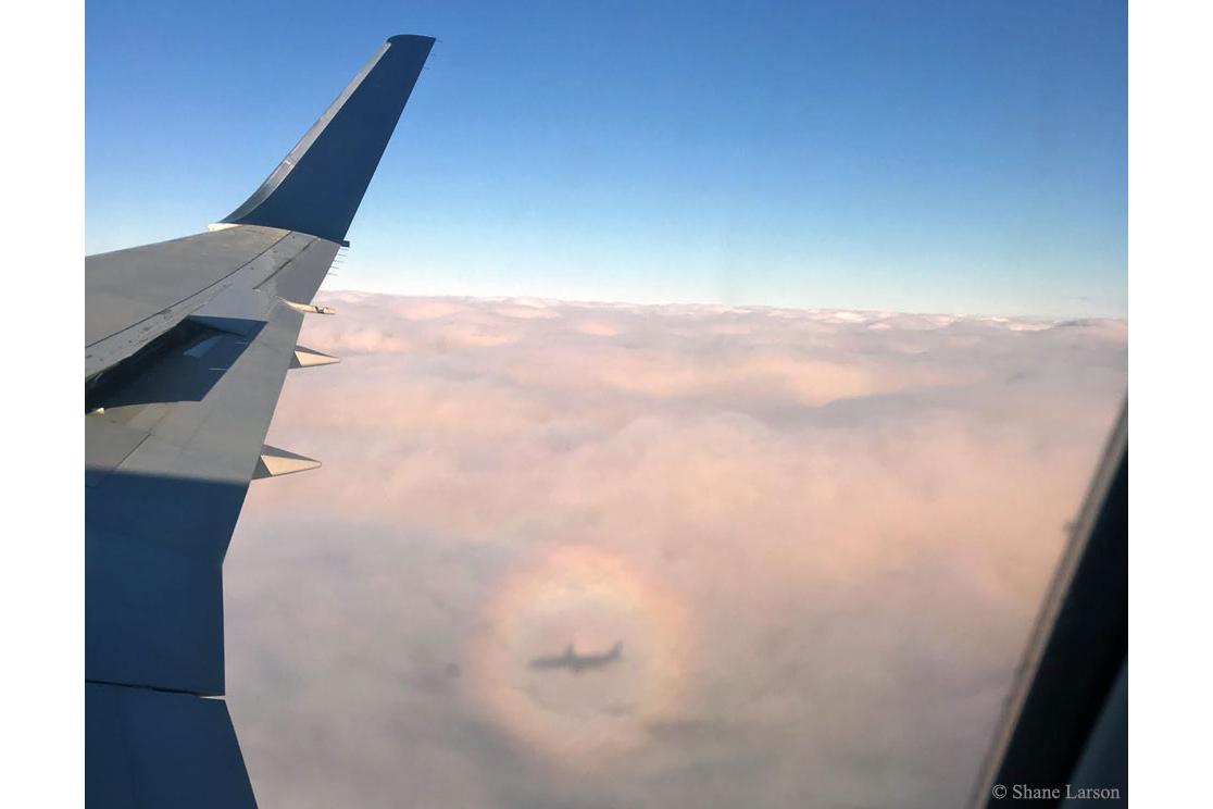 تصویر زیبا از هواپیما
