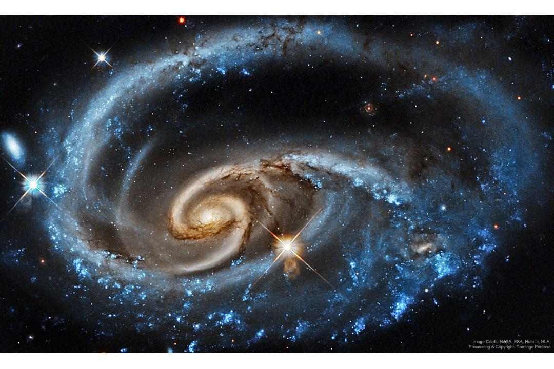 کهکشانUGC 1810 در یک برخورد کهکشانی