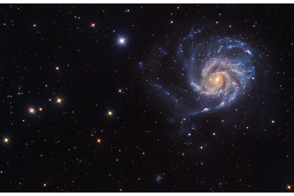 نگاهی به سمت کهکشانM101