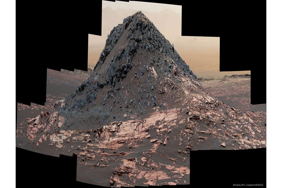 تپه ای عجیب روی مریخ