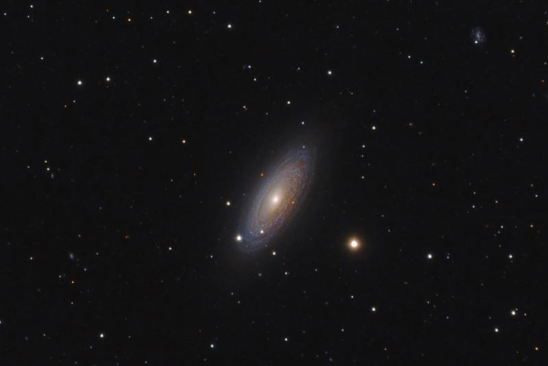 کهکشان NGC2841 در صورت فلکی دب اکبر