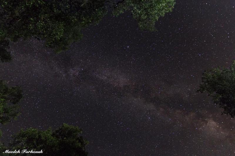 کهکشان راه شیری و مثلث تابستانی