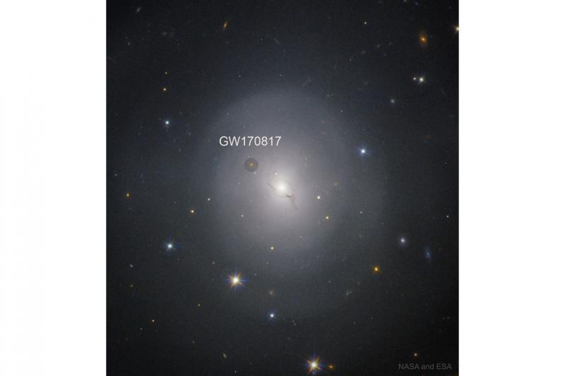 خانه کهکشانی یک انفجار تاریخیNGC 4993