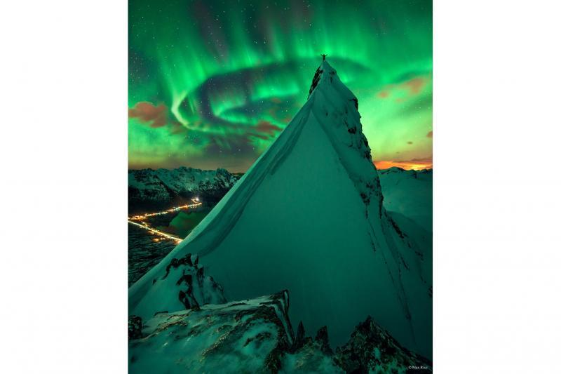 یک همراهی سبز: شفق برفراز نروژ