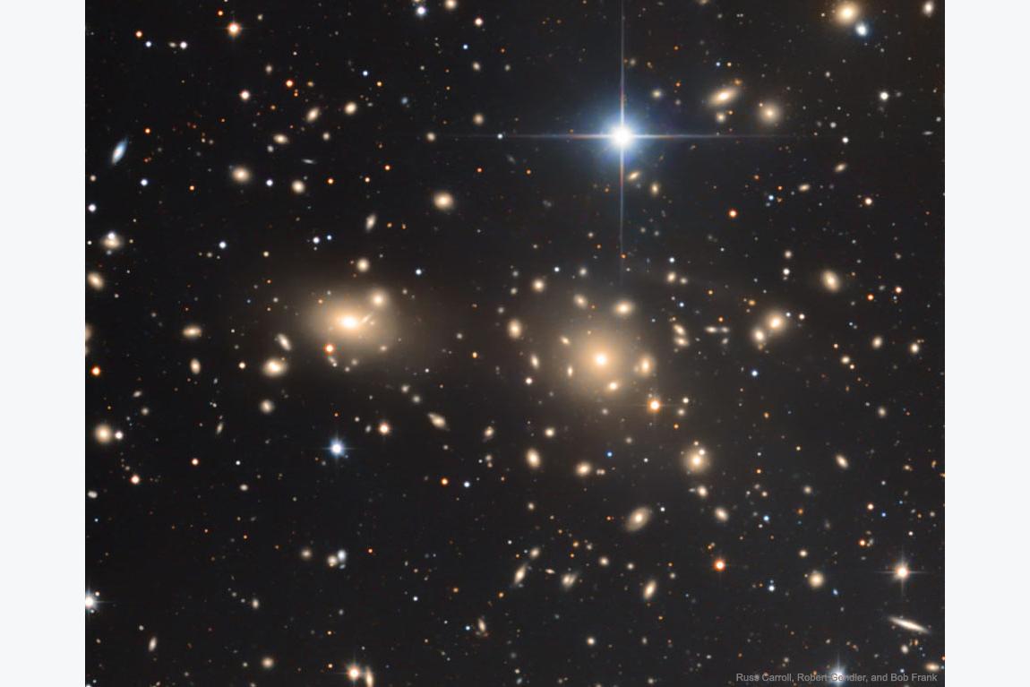 کهکشانهای خوشهکما