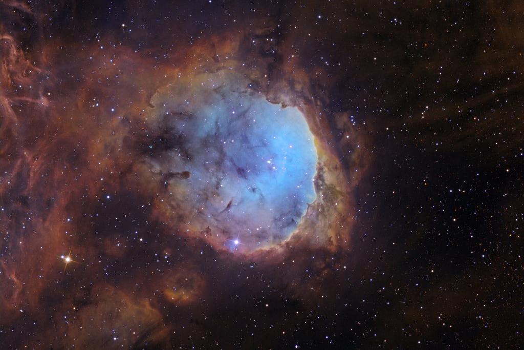 خوشه ستارهایNGC 3324 در کارینا