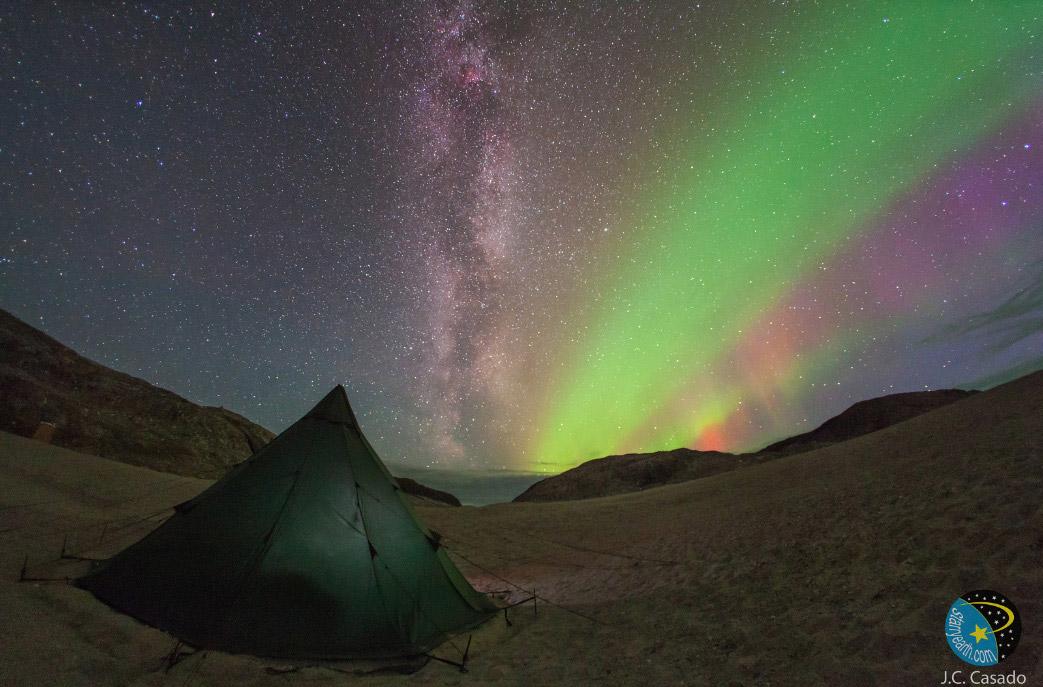 کمپ شفق قطبی