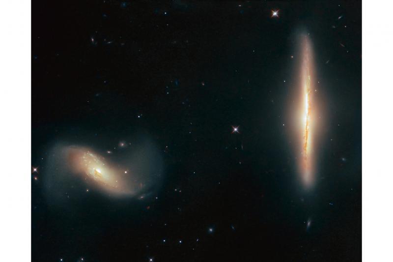 کهکشانهای همسایه در تصویر جدید هابل