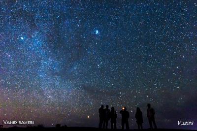 رصدگران آسمان شب و راه شیری
