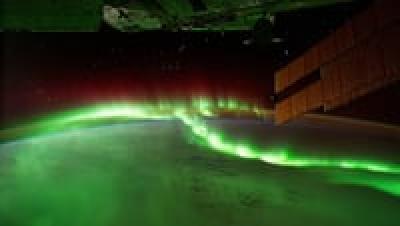 تایم لپس زمین از فضا