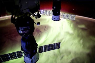 تایم لپس، زمین از فضا