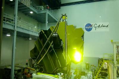 آینه های تلسکوپ جیمز وب پس از نصب