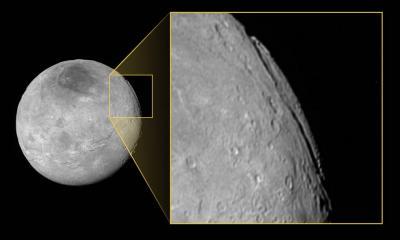 دره بسیار بزرگ قمر پلوتو، شارون