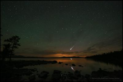 آذرگوی (fireball) در آسمان نروژ