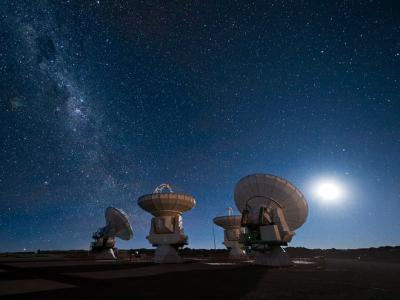 تلسکوپ های ESO و کهکشان راه شیری