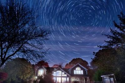 عکاسی نجومی؛ رد ستارگان