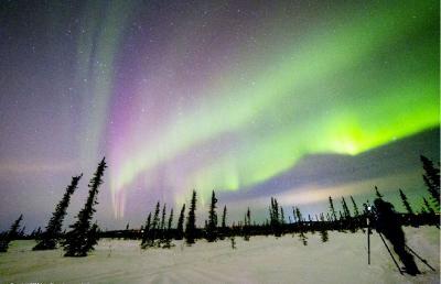 چگونه می توان شفق قطبی را دید ؟