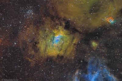 سحابی حباب در دریای کیهانی