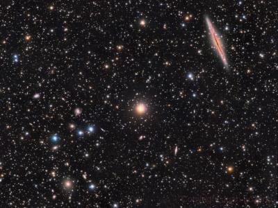 کهکشانNGC 891 وAbell 347