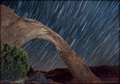 رد ستارگان در کویر یوتا