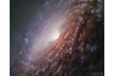 مرکز کهکشان مارپیچیNGC 5033