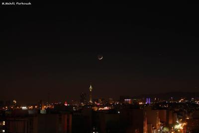 هلال ماه رجب