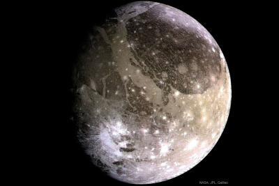 بزرگترین قمر: گانیمد