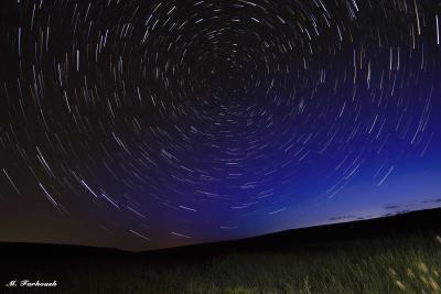 گذر زمان و گردش ستاره ها