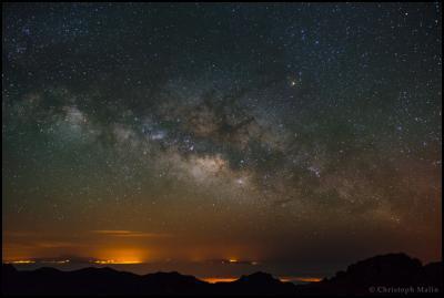طلوع کهکشان راه شیری