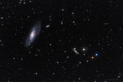نمایی از کهکشانM106