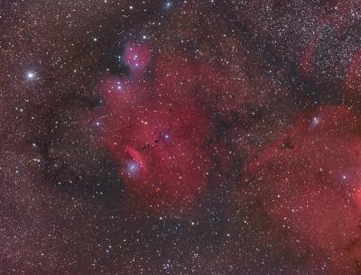 سحابی NGC 6559