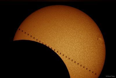 دو عبور از مقابل خورشید