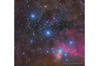 ستارهها و سحابیها: زتا، اپسیلون و دلتا شکارچی