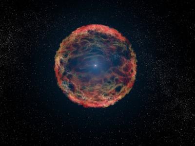 ستاره زامبی، ستاره ای که پس از مرگ دوباره زنده شد