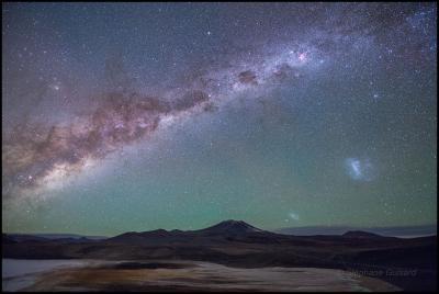 آسمان پرستاره در شیلی