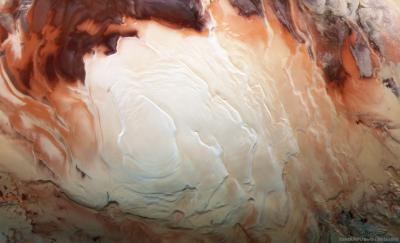 لایههای قطب جنوب مریخ