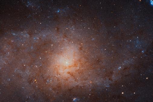هابل تصویری غول پیکر از کهکشان مثلث گرفت!
