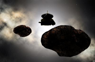 نیوهورایزنز پس از پلوتو به ملاقات Ultima Thule رفت