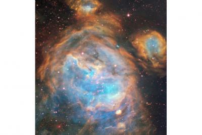 مهدکودک ستارهها در ابرماژلانی بزرگ