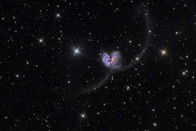 کهکشانهای آنتن