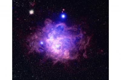 سحابی NGC 604