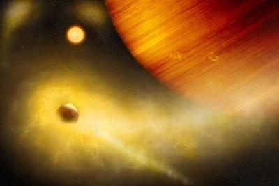 نشانه های احتمالی از کشفاولین قمر فراخورشیدی