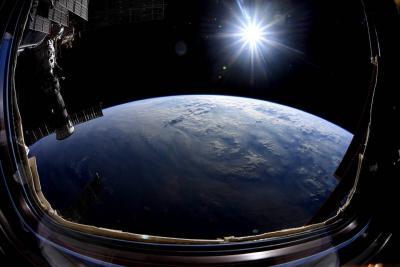 آخرین دیدار با زمین از ISS