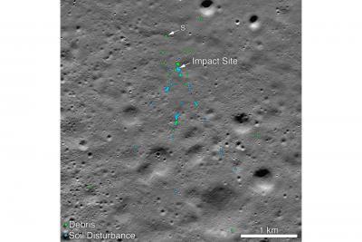 بقایای ماه نشین ویکرام پیدا شد.