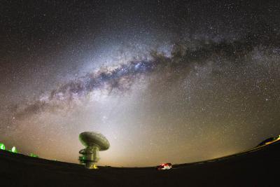 دانشمندان مشغول نقشه برداری از میدان مغناطیسی راهشیری هستند.